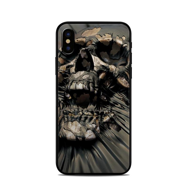 best website 3d93f d5ee8 Apple iPhone X Skin - Skull Wrap