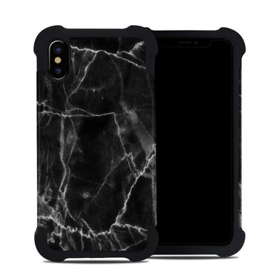 Apple iPhone X Bumper Case - Black Marble