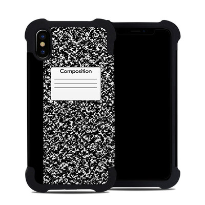 Apple iPhone X Bumper Case - Composition Notebook