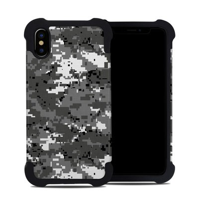 Apple iPhone X Bumper Case - Digital Urban Camo