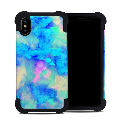 Apple iPhone X Bumper Case - Electrify Ice Blue
