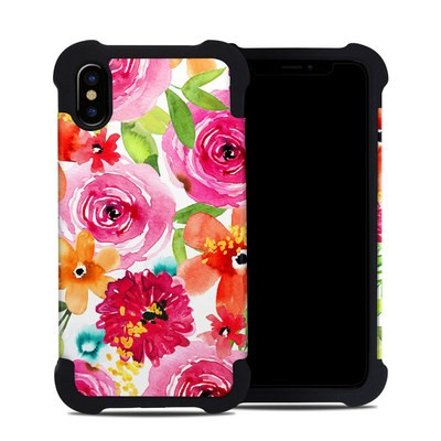 Apple iPhone X Bumper Case - Floral Pop