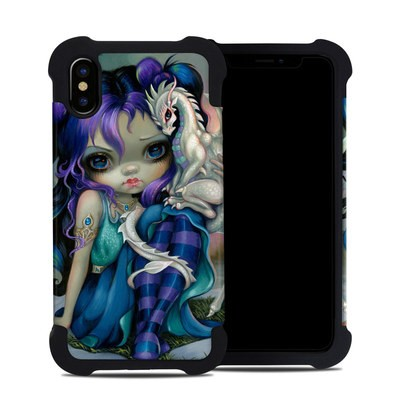 Apple iPhone X Bumper Case - Frost Dragonling