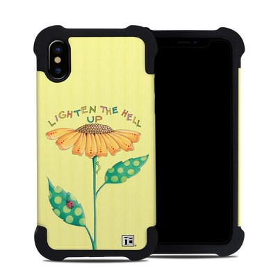 Apple iPhone X Bumper Case - Lighten Up