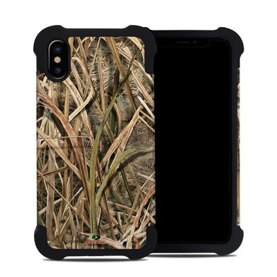 Apple iPhone X Bumper Case - Shadow Grass Blades