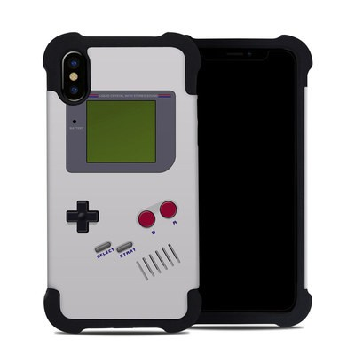 Apple iPhone X Bumper Case - Retro Horizontal