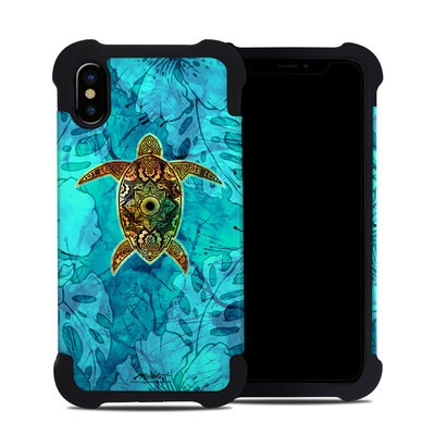 Apple iPhone X Bumper Case - Sacred Honu