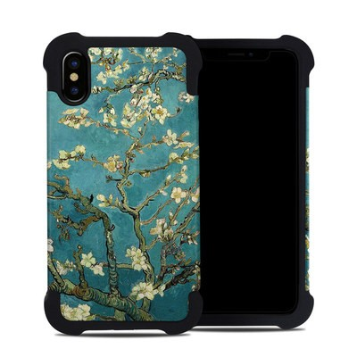 Apple iPhone X Bumper Case - Blossoming Almond Tree
