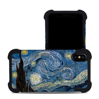 Apple iPhone X Bumper Case - Starry Night