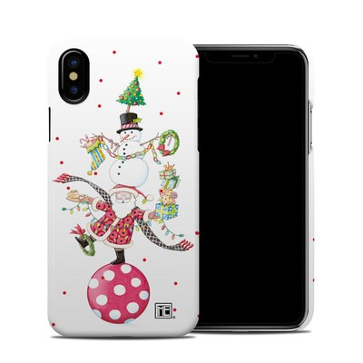 Apple iPhone X Clip Case - Christmas Circus