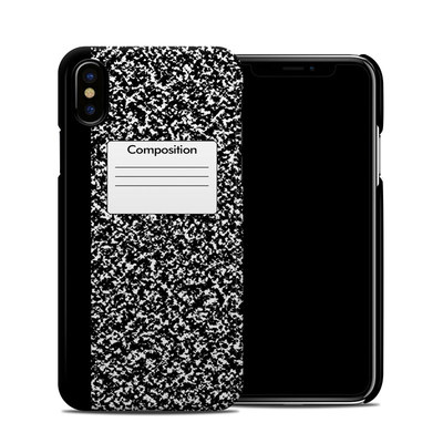 Apple iPhone X Clip Case - Composition Notebook