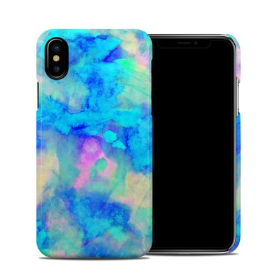 Apple iPhone X Clip Case - Electrify Ice Blue