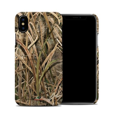 Apple iPhone X Clip Case - Shadow Grass Blades