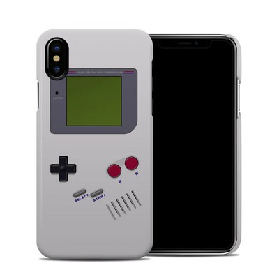 Apple iPhone X Clip Case - Retro Horizontal