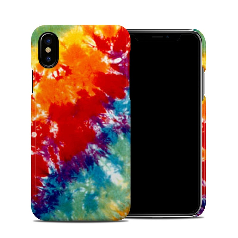 new product 0733d ddd41 Apple iPhone X Clip Case - Tie Dyed