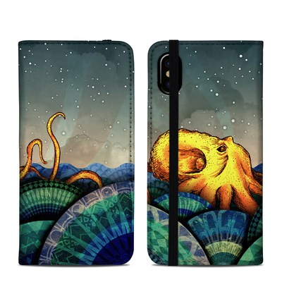 Apple iPhone X Folio Case - From the Deep