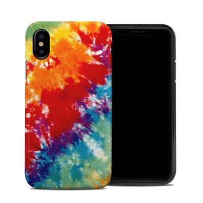 Apple iPhone X Hybrid Case - Tie Dyed