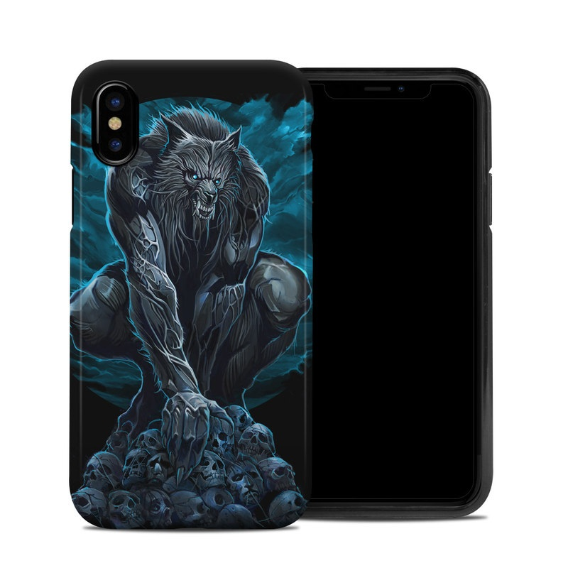 reputable site dfde1 9f215 Apple iPhone X Hybrid Case - Werewolf