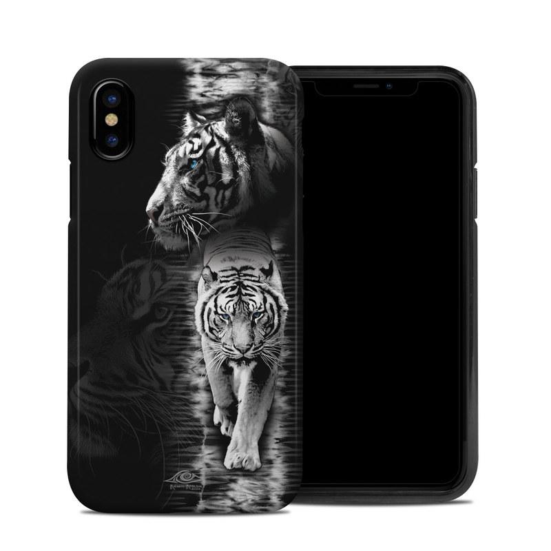 a67d0864 Apple iPhone X Hybrid Case - White Tiger