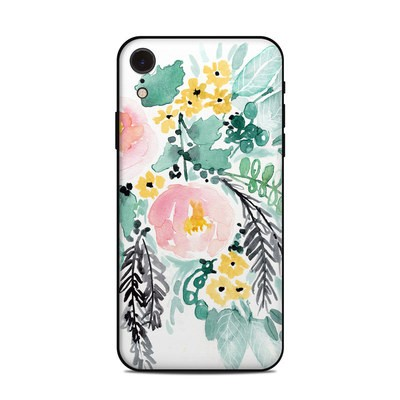 Apple iPhone XR Skin - Blushed Flowers