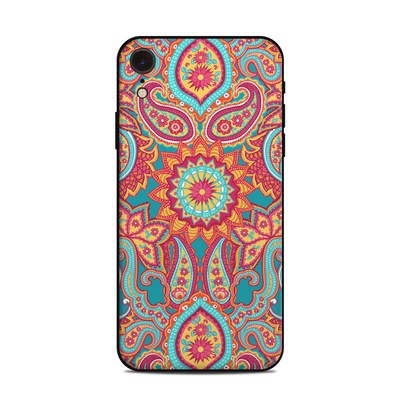 Apple iPhone XR Skin - Carnival Paisley