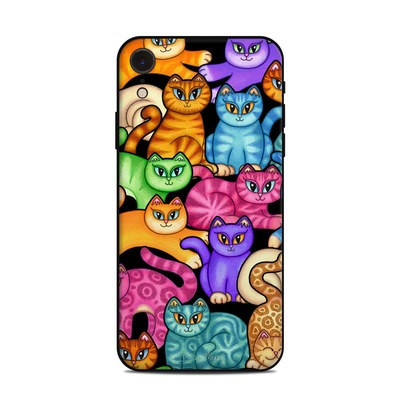 Apple iPhone XR Skin - Colorful Kittens