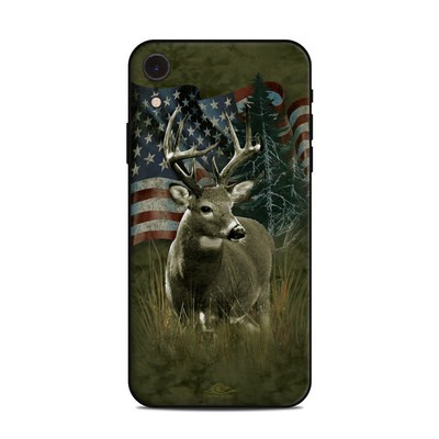 Apple iPhone XR Skin - Deer Flag
