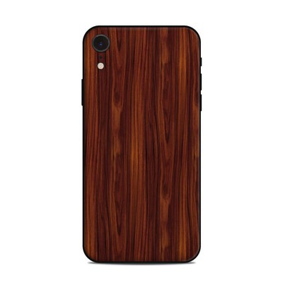 Apple iPhone XR Skin - Dark Rosewood