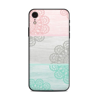 Apple iPhone XR Skin - Doily