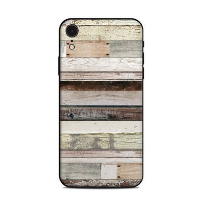 Apple iPhone XR Skin - Eclectic Wood