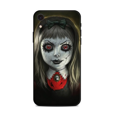 Apple iPhone XR Skin - Haunted Doll