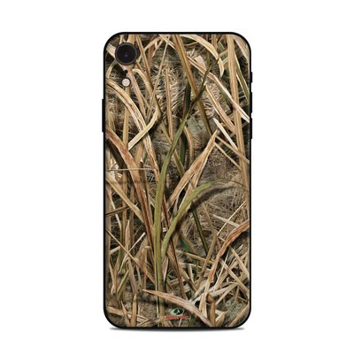 Apple iPhone XR Skin - Shadow Grass Blades