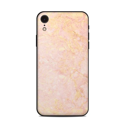 Apple iPhone XR Skin - Rose Gold Marble