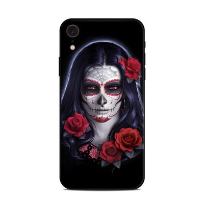Apple iPhone XR Skin - Sugar Skull Rose