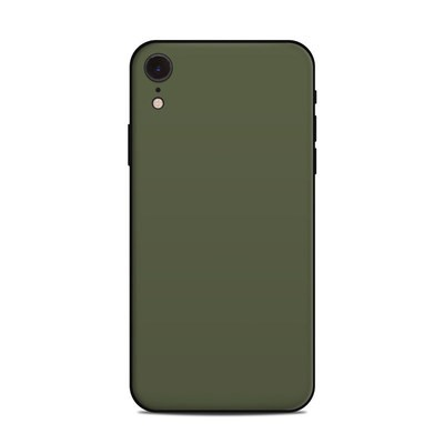 Apple iPhone XR Skin - Solid State Olive Drab