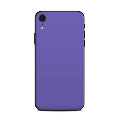 Apple iPhone XR Skin - Solid State Purple