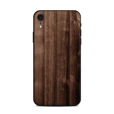 Apple iPhone XR Skin - Stained Wood