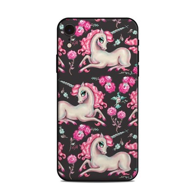 Apple iPhone XR Skin - Unicorns and Roses