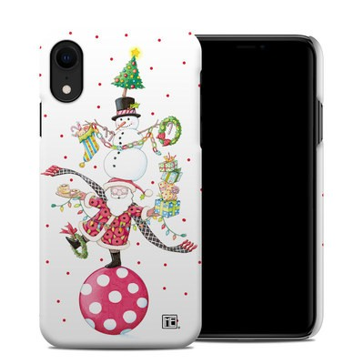 Apple iPhone XR Clip Case - Christmas Circus