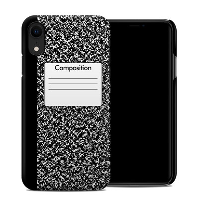Apple iPhone XR Clip Case - Composition Notebook