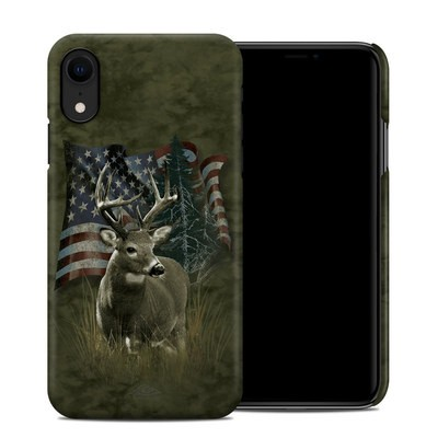 Apple iPhone XR Clip Case - Deer Flag
