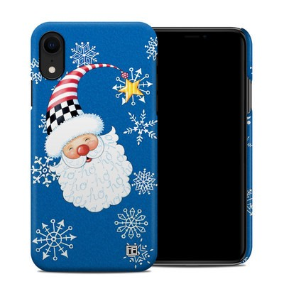 Apple iPhone XR Clip Case - Santa Snowflake