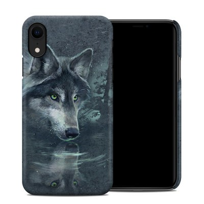 Apple iPhone XR Clip Case - Wolf Reflection