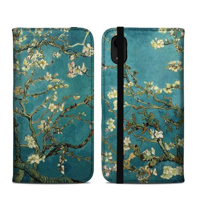 Apple iPhone XR Folio Case - Blossoming Almond Tree