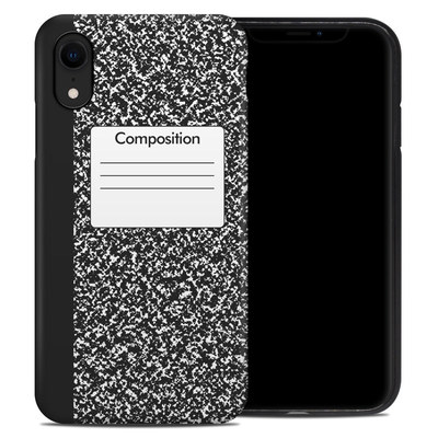 Apple iPhone XR Hybrid Case - Composition Notebook