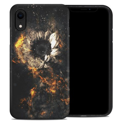 Apple iPhone XR Hybrid Case - Flower Fury