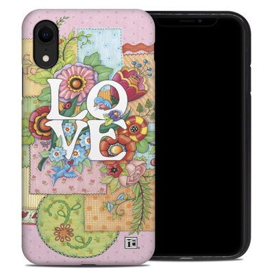 Apple iPhone XR Hybrid Case - Love And Stitches