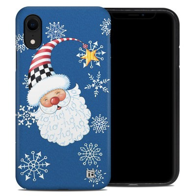 Apple iPhone XR Hybrid Case - Santa Snowflake