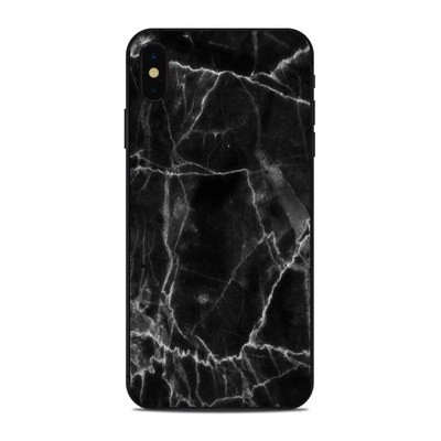 Apple iPhone Xs Max Skin - Black Marble
