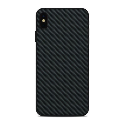 Apple iPhone Xs Max Skin - Carbon